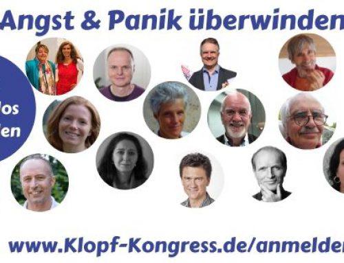 """Online Klopf-Kongress 2020 """"Angst und Panik überwinden"""""""