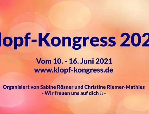 """Online-Klopfkongress """"Krisen überwinden"""" vom 10.-16.06.2021"""
